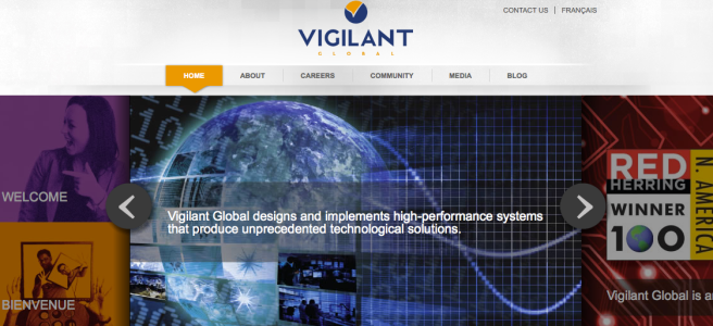 Vigilant Global site does not reveal executive names