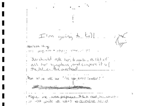 Adnan Syed I'm going to kill note