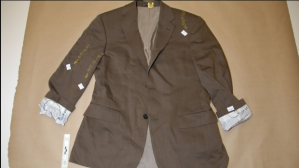 Dennis Oland blood stained Jacket