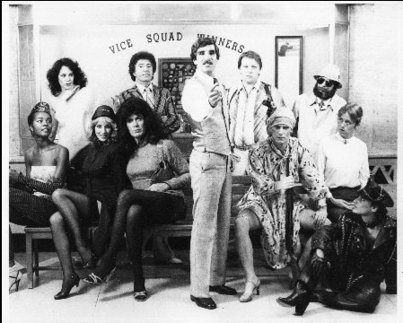 Harry Reems and cast